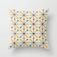Midcentury Pattern 02 Throw Pillow
