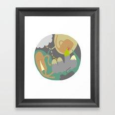 Entanglements 3 Framed Art Print