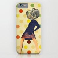 iPhone Cases featuring PLATE IX by Julia Lillard Art
