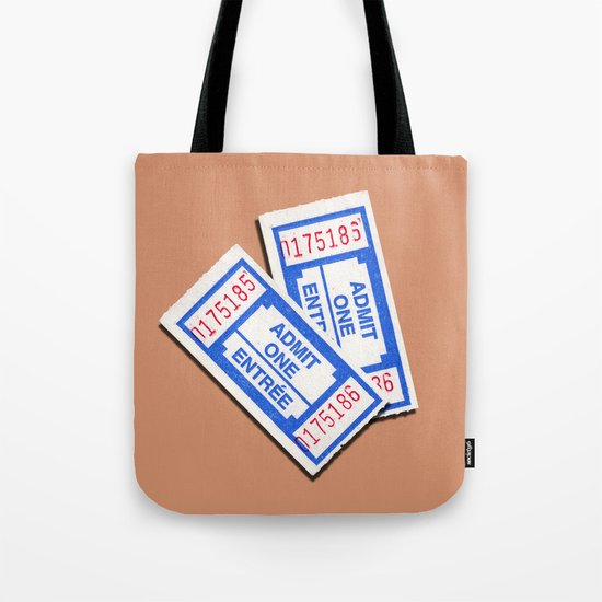 Admit 2 please Tote Bag