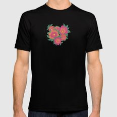 Rosa SMALL Mens Fitted Tee Black