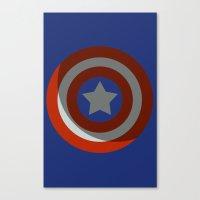 The Captains Shield Canvas Print