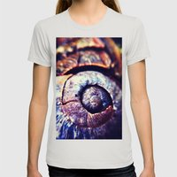 Shell Womens Fitted Tee Silver SMALL