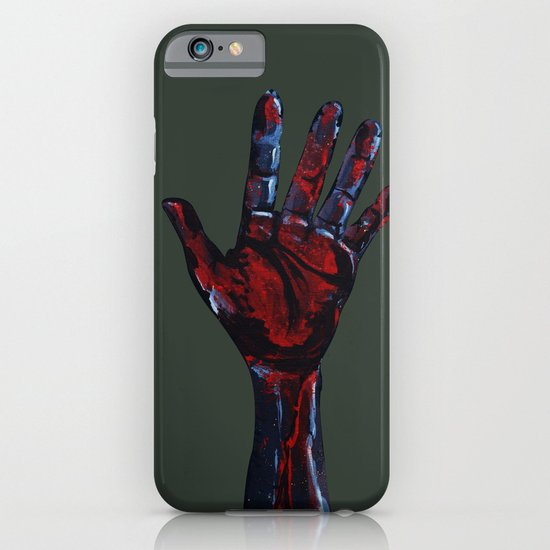 Hand of Death iPhone & iPod Case