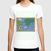 Northern Explorer Womens Fitted Tee White SMALL