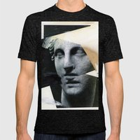 Untitled (Painting Composition 8) Mens Fitted Tee Tri-Black SMALL