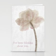 Thinking about you Stationery Cards
