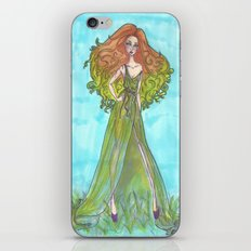 Green goddess. iPhone & iPod Skin