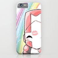 iPhone & iPod Case featuring Castle Crashers Pink Knight by JAGraphic