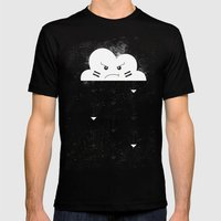 Nuage indien Mens Fitted Tee Black SMALL