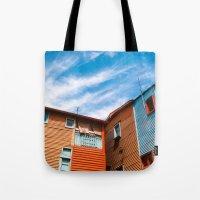 Colors At Caminito Tote Bag