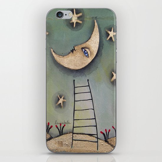 MOON iPhone & iPod Skin