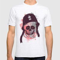 Soldier  Mens Fitted Tee Ash Grey SMALL