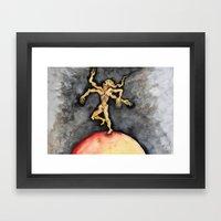 The Burning World Framed Art Print