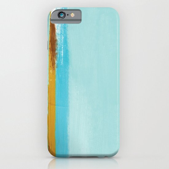 Teal Dream Abstract iPhone & iPod Case