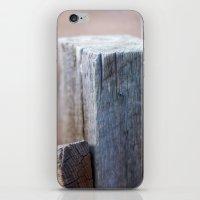 Fence Post II iPhone & iPod Skin