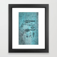 Storm Starr Revolver  Framed Art Print