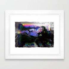 OPHELIA IN WONDERLAND Framed Art Print