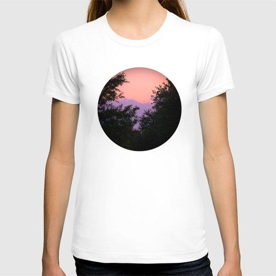 Clouds As Mountains Circular T-shirt