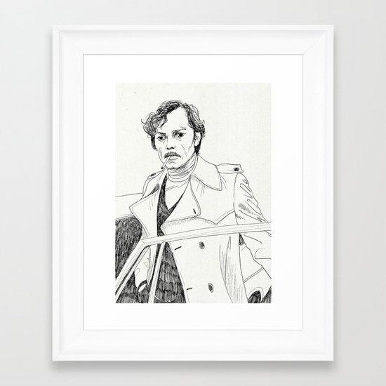Poupart Framed Art Print