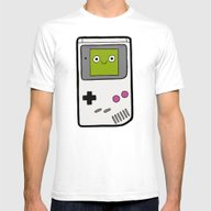 T-shirt featuring Retro Gameboy Character by Evannave