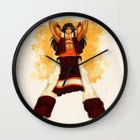Apache Chief Wall Clock