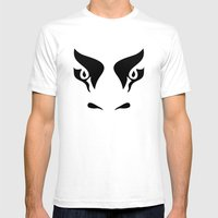 Bull's Eyes - Digital Wo… Mens Fitted Tee White SMALL