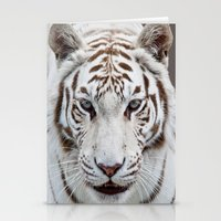 tiger Stationery Cards featuring Tiger Tiger by Catspaws