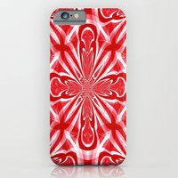 iPhone Cases featuring Red Cross by Kathleen Sartoris