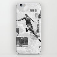 Didier Drogba Underwater Highlight Tape DVD-RW iPhone & iPod Skin