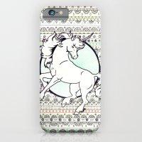 iPhone & iPod Case featuring Unicorn Party by Yuka Nareta