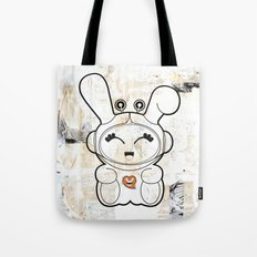Space Bunny Tote Bag