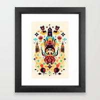 The Secret Key Framed Art Print