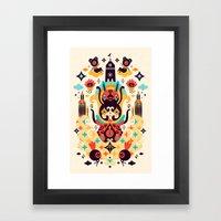 The Secret Key Framed Art Print