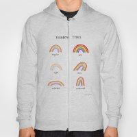 Rainbow Types Hoody