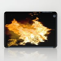Face in the Flames iPad Case