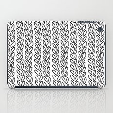 Knit Outline Zoom iPad Case