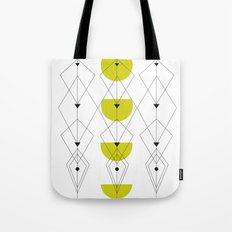 50ies Green Tote Bag