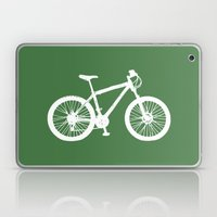 Mountain Bike Green Laptop & iPad Skin