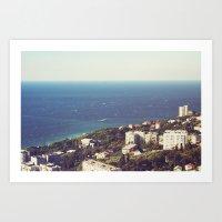 Sea Landscape Art Print
