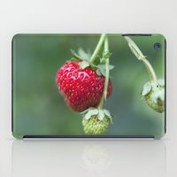 Red Ripe Strawberry iPad Case