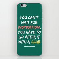 Go After Inspiration Wit… iPhone & iPod Skin
