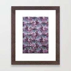 MYSTIC//KALEIDO Framed Art Print