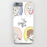 I Heart the Golden Girls Print iPhone 6 Slim Case