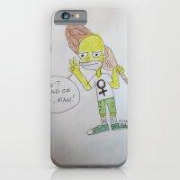 Bootleg Series: Meggie Sampson the cavewoman iPhone 6 Slim Case