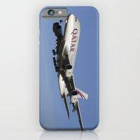 Qatar Airlines Airbus A380 iPhone 6 Slim Case