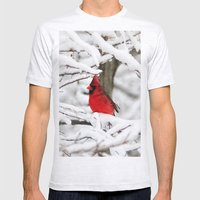 Standing Out Mens Fitted Tee Ash Grey SMALL