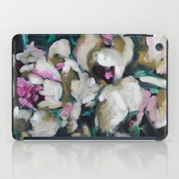 Blurred Vision Series - Blush Peonies No. 1 iPad Case