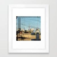 Summer space, smelting selves, simmer shimmers. [extra, 1] Framed Art Print
