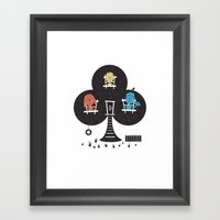 Clubhouse Framed Art Print